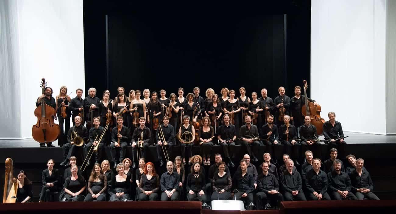 Balthasar Neumann Chor und Ensemble © Florence Grandidier