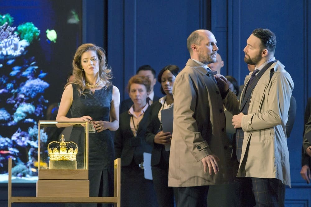 Lessons in love and violence © Royal Opera House