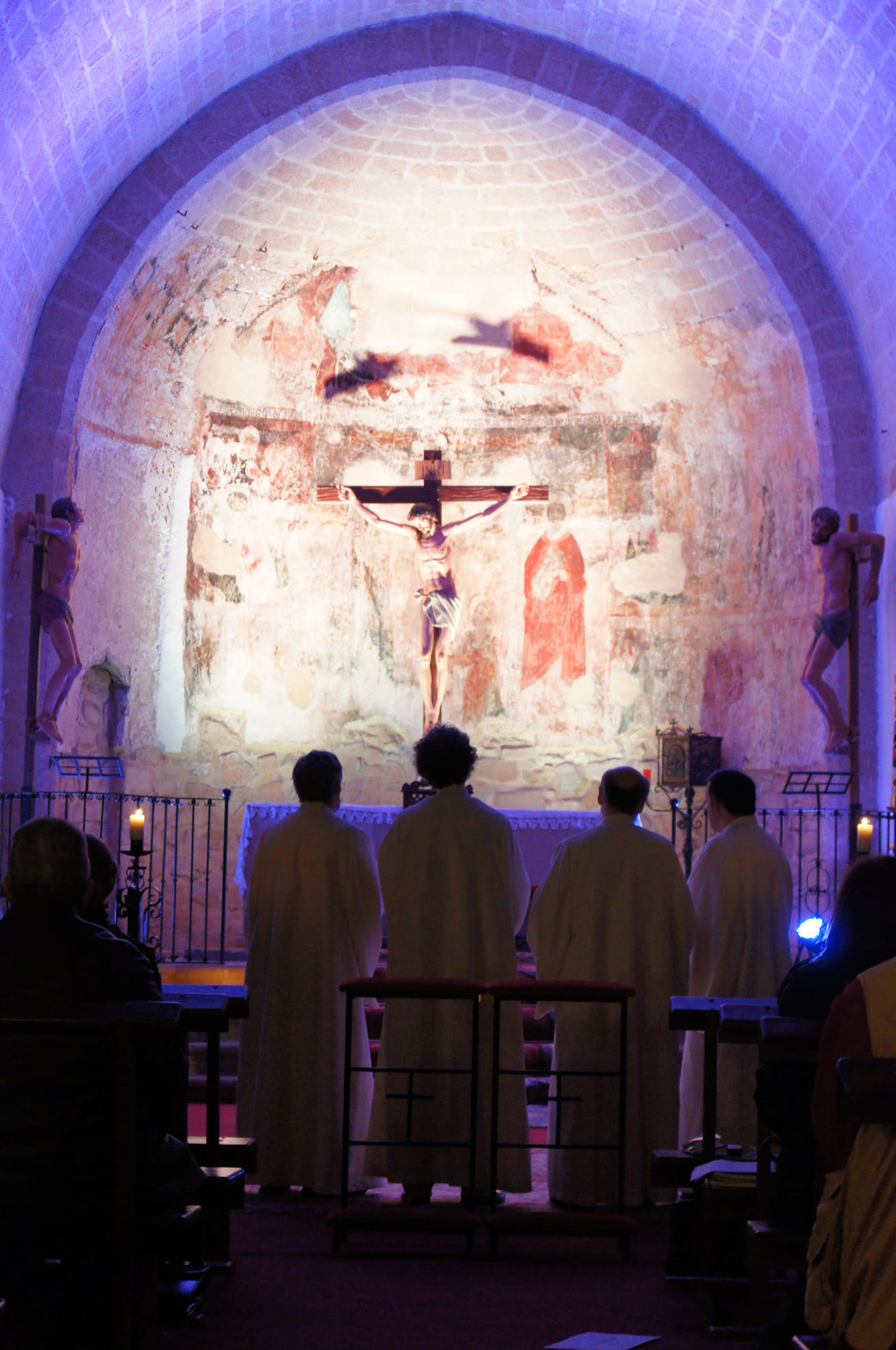 Ensemble Organum, Iglesia de la Santa Cruz de Baeza © C. González / FeMAUB 2011
